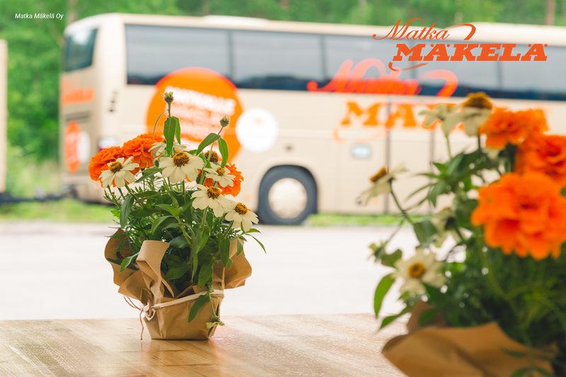 Vastuullinen matkanjärjestäjä Matka Mäkelä Oy - Liikumme mukavasti ryhmän omalla bussilla
