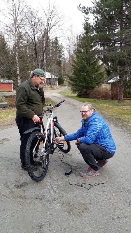 Sähköavusteinen maastopyörä vuokraus 160-177 cm pituiselle - Kinkamon pirtti