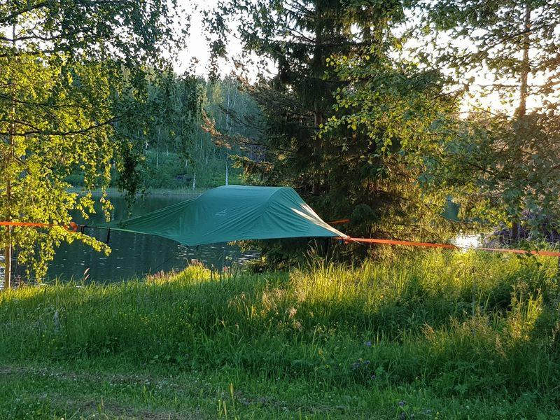 Lahjakortti kahdelle henkilölle Tentsile Experience Camp Keuruu