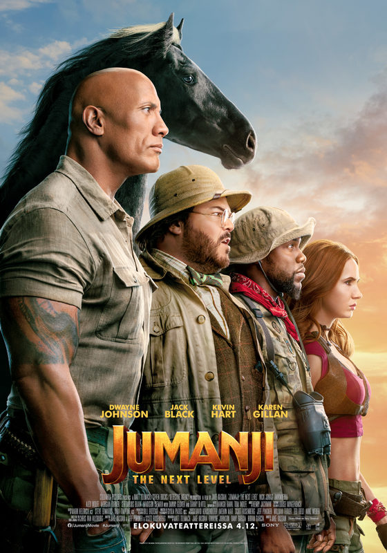 JUMANJI:The Next Level (3D)