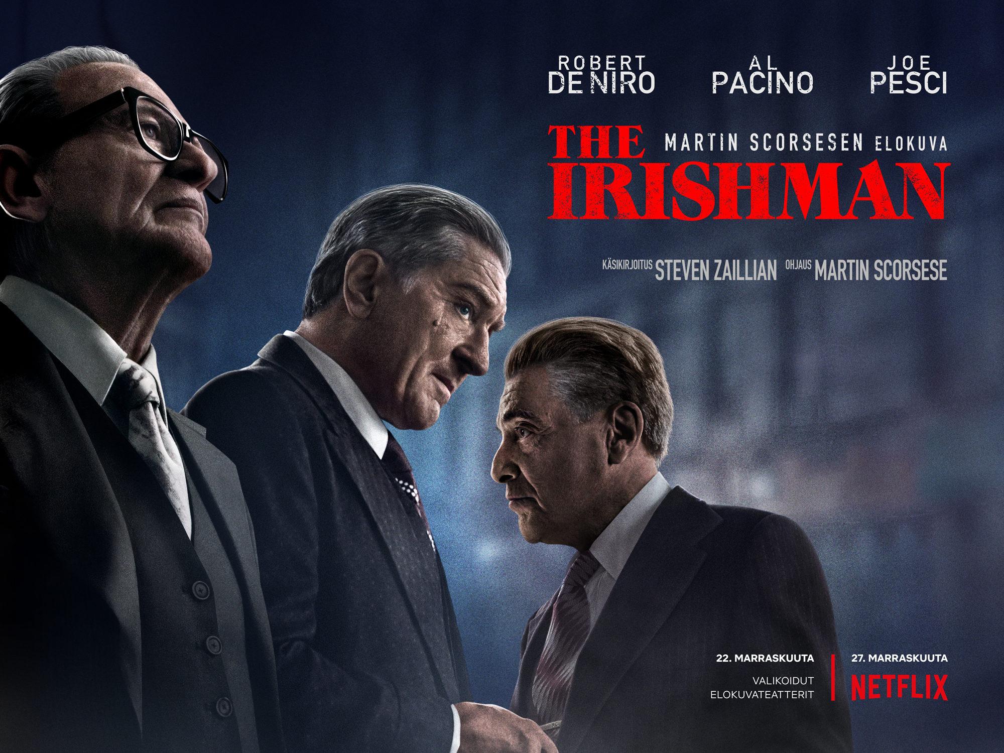 The Irishman Kino