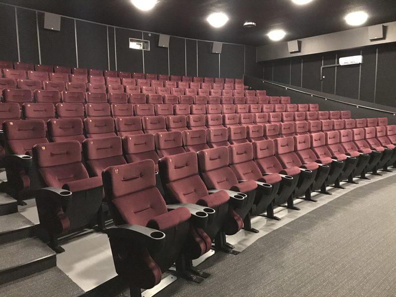Kinotar 1 - Muodonmuutoksen vastikään kokenut 147-paikkainen suurin salimme.