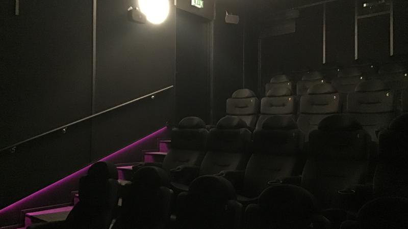 Kinotar 3 - Uutukainen 26-paikkainen pikkusali.