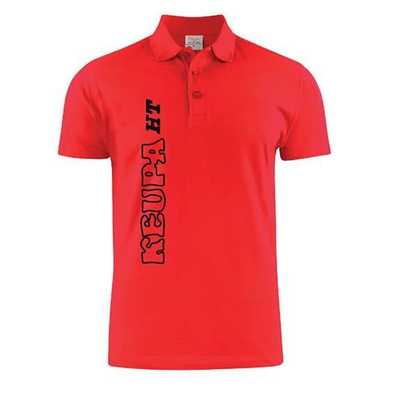 ALE Keupa HT pikee t-paita, punainen, L