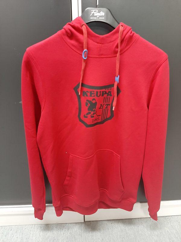 ALE Keupa HT huppari, punainen, musta logo, S (norm. 65€)