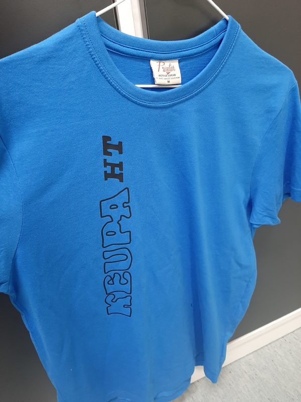 ALE Keupa HT  t-paita, sininen, mustalla tekstillä, M (norm. 30€)