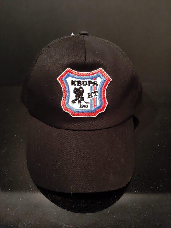 KeuPa HT lippis, musta, värillinen logo