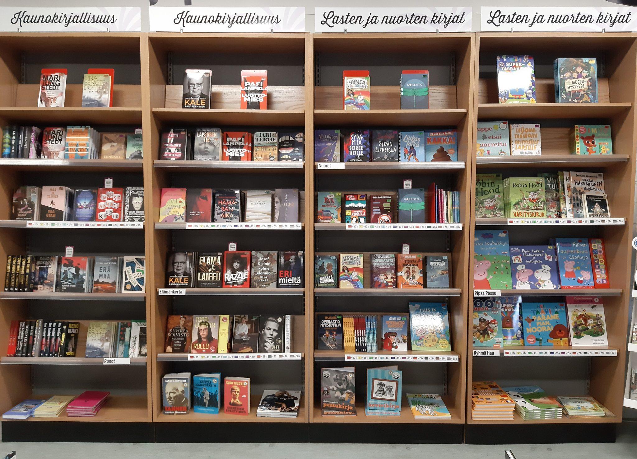 Lasten ja nuorten kirjat
