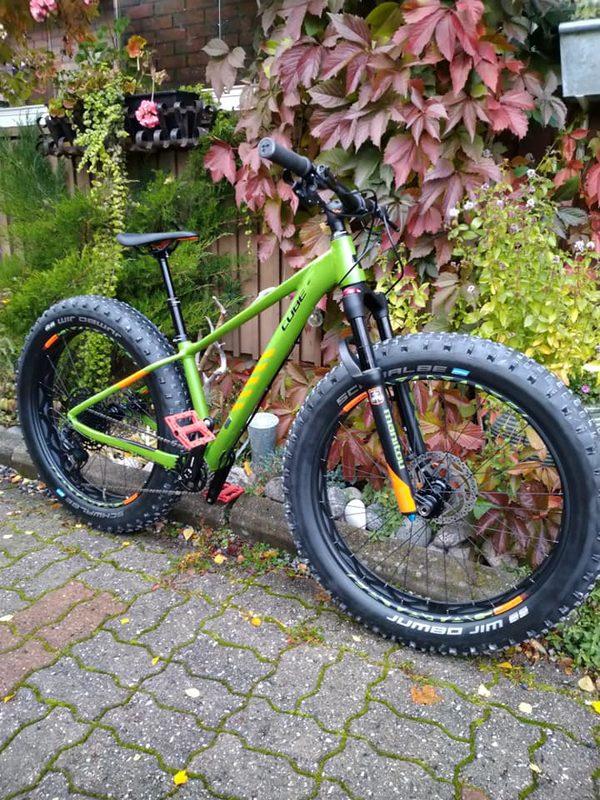 CUBE NUTRAIL 2020 -size  S-15``- Biker 150-165cm