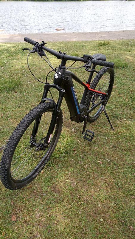 CUBE RHR SL  koko XS  -  junnu sähkömaastopyörä etujoustolla