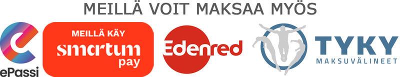 Smartum, Edenred, E-passi, TYKY, MobilePay