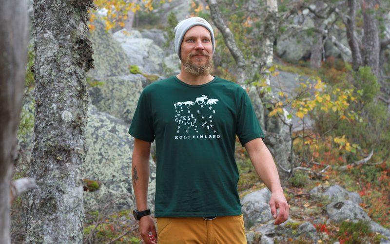 Eläinjälki T-paita