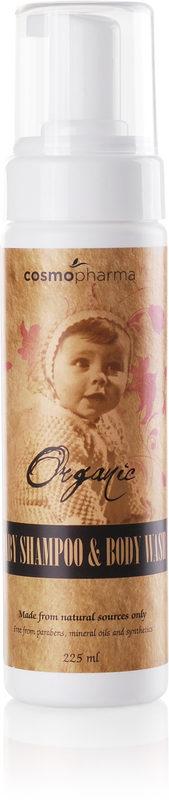 Organic Baby Shampoo & Wash