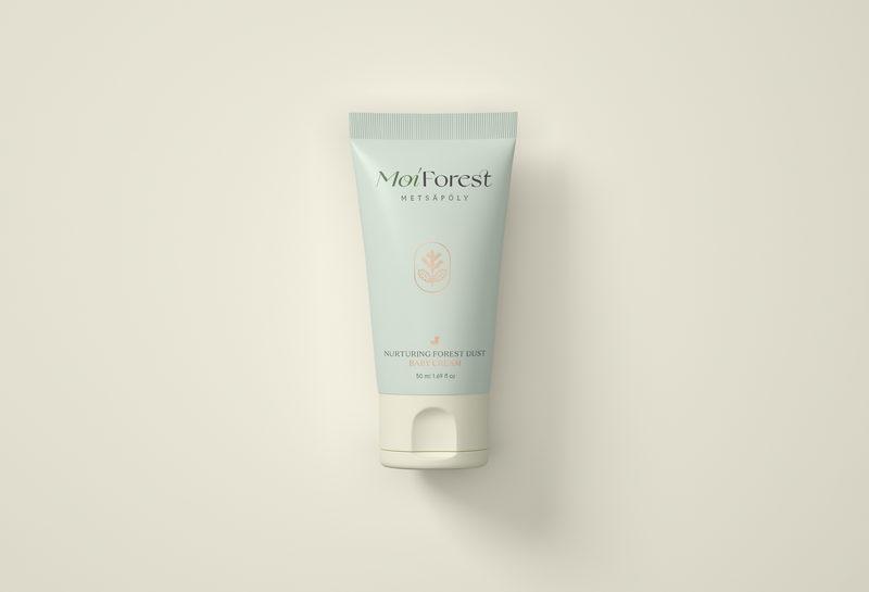 Moi Forest -metsäpölyvoide Nurturing Forest Dust Baby Cream