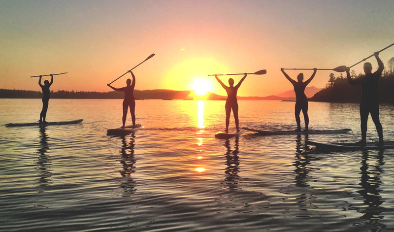 Guided Wilderness SUP tours