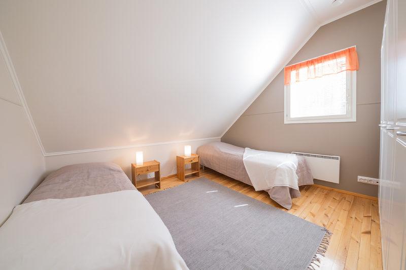 Pikku-Itävalta makuuhuone