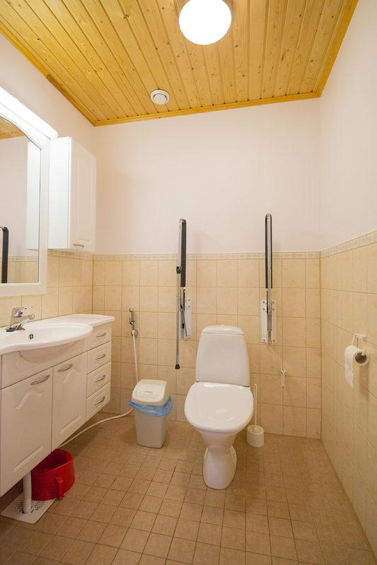 Pikku-Itävalta alakerran wc-tila