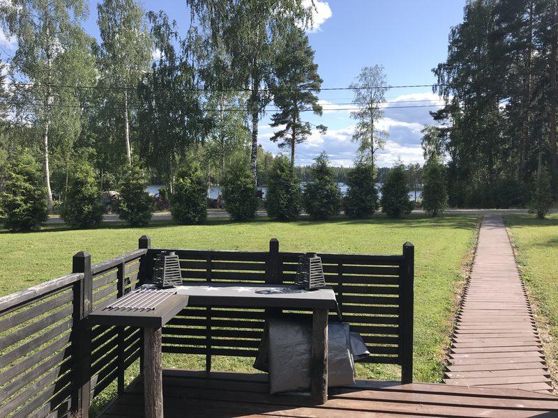 Koruretken maisemaa kesällä