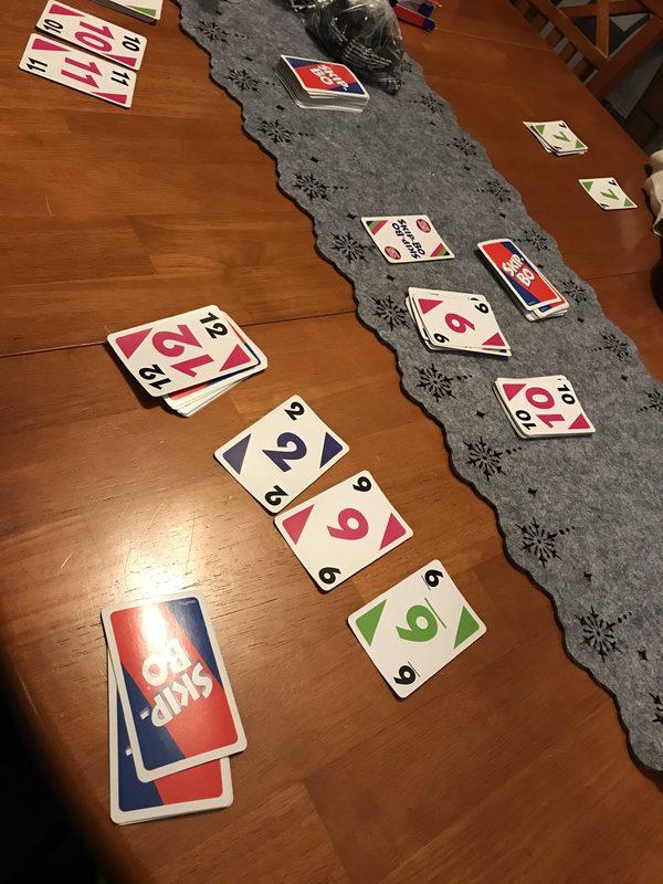 Korttipeli - Skipbo