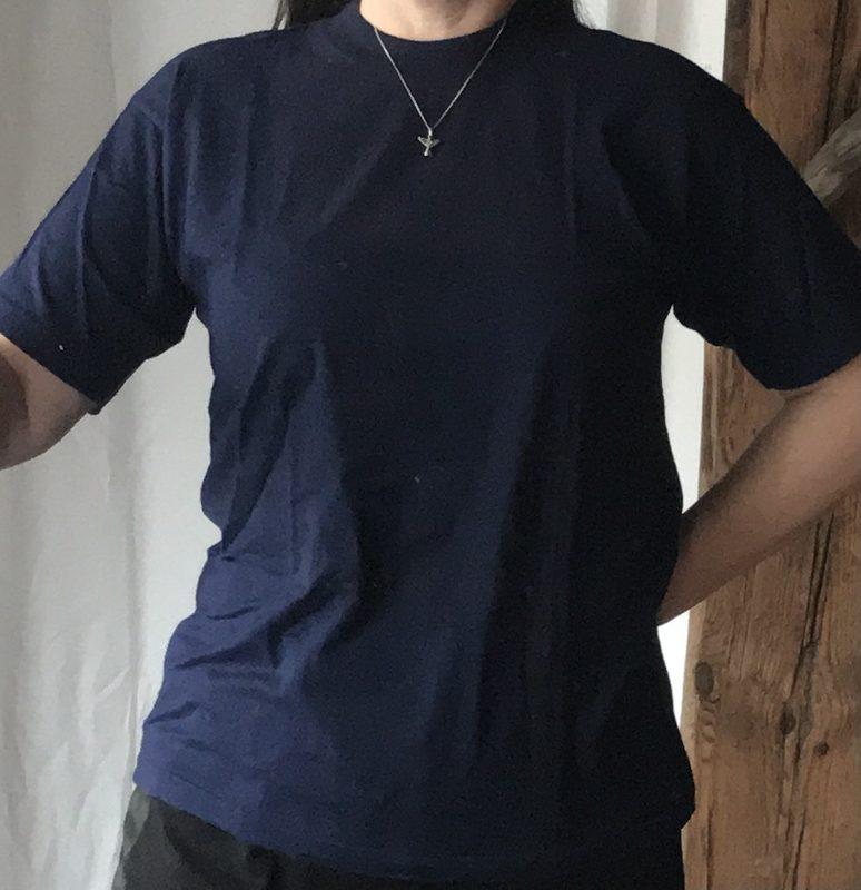 T-paita Paradise Beach, sininen, koko XL