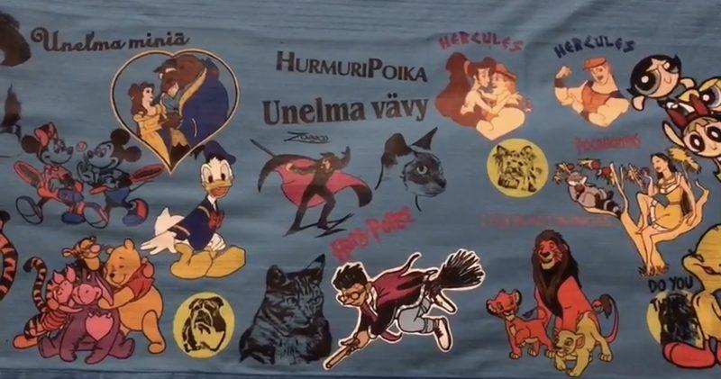 Unelmavävy, hurmuripoika ja unelmaminiä- paita