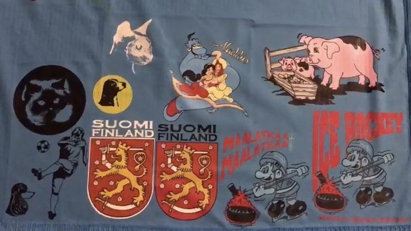 Suomi ja smurffit - kuva