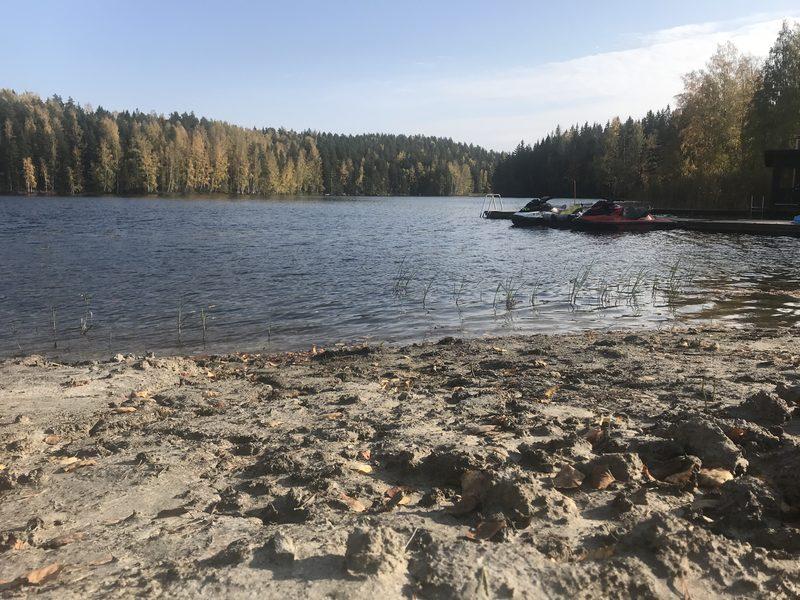 Hokkalan ranta - Uimaranta käytössä sekä rannassa oleva nuotiopaikka.
