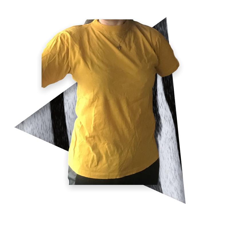 T-paita Paradise Beach, keltainen, koko L
