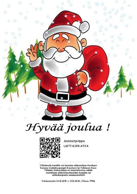 Joululahjalippu