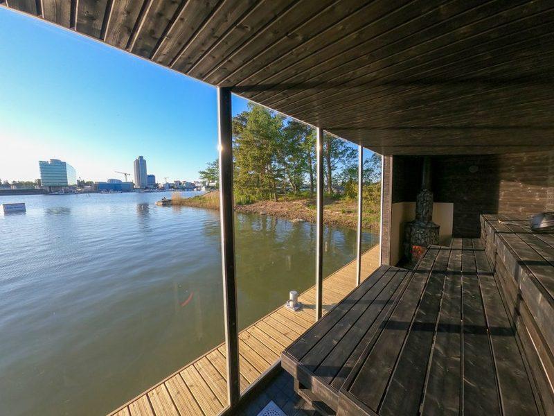 Syksyn spessutarjous - yksityinen saunavuoro ja terassitila