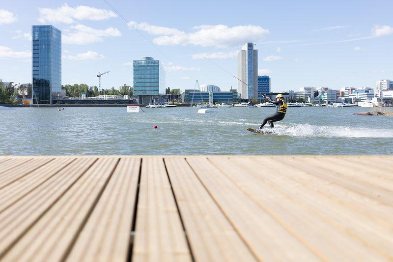 Wakeboarding ajoaika Easy-kaapeli