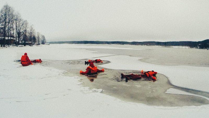 Jääkellunta Puumalassa