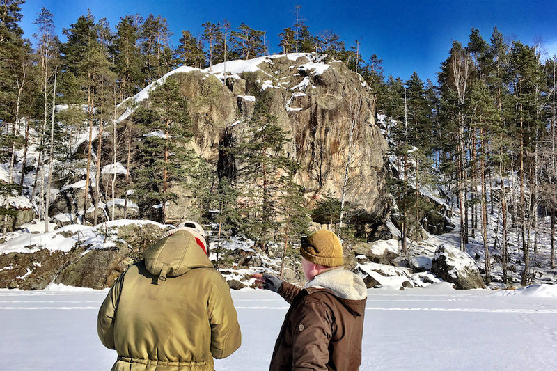 Opastettu retki Astuvansalmen kalliomaalauksille  (syys-huhtikuu)