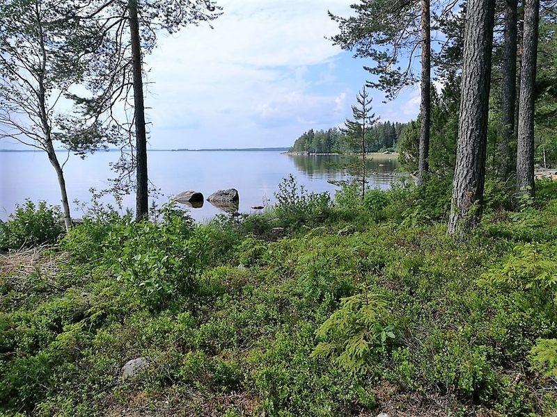 Ulkokeittiön kulmalta järvelle