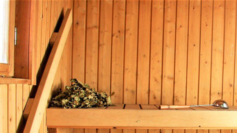 Päärakennus - sauna
