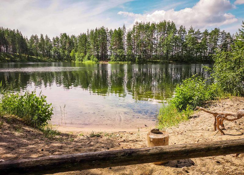 Linnasaaren laguuni