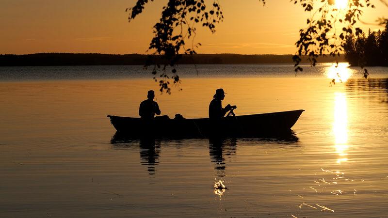 Opastettu kalastusretki