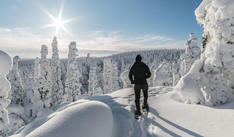 Lumikenkien vuokraus