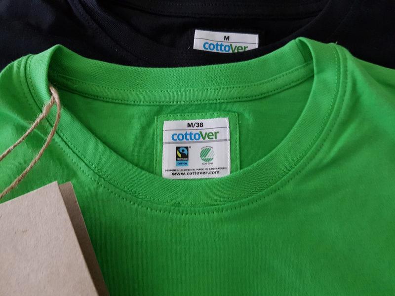 Geopark T-paita - Ekopuuvillainen T-paita Geopark-logolla, miesten ja naisten mallit.