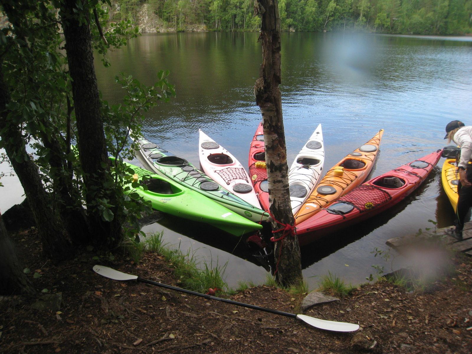 Vuokravälineet, kajakit, kanootit, Sup-laudat ja retkeilyvarusteet