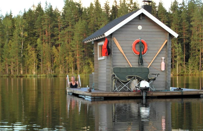 Trip by the Floating Sauna