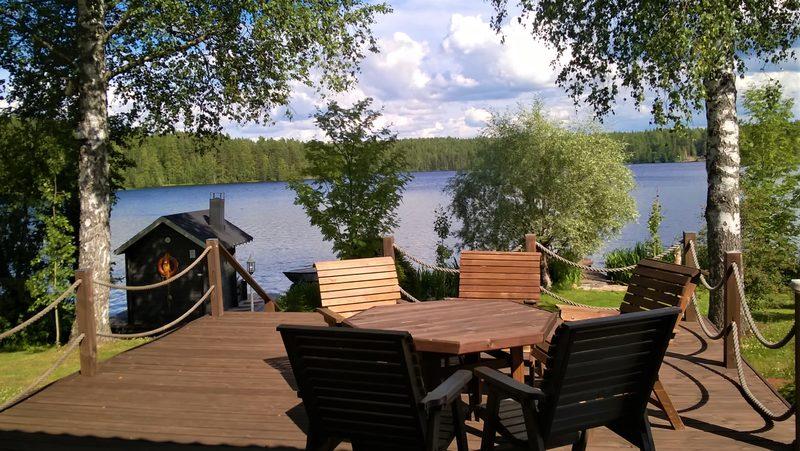 Hyr hela Semesterhuset vid vackra Riuttasjärvi