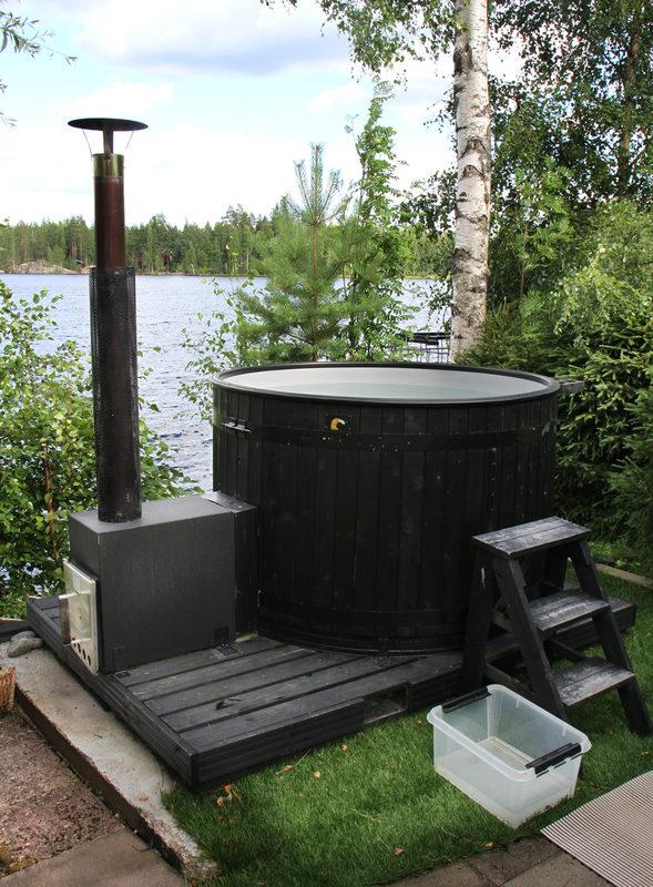 Boka en badtunna