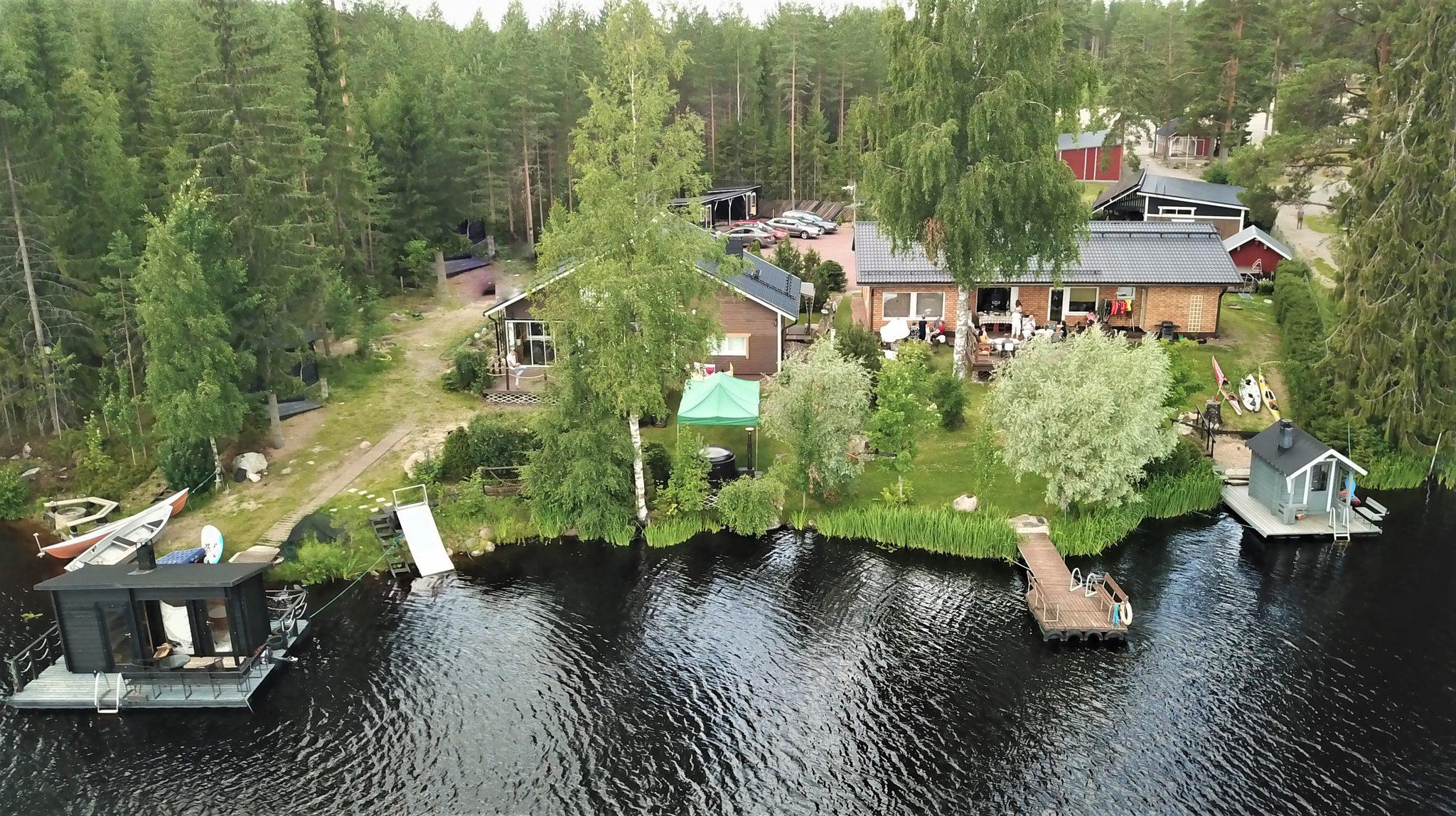 Relax and experience nature in Käenkoski, Parkano