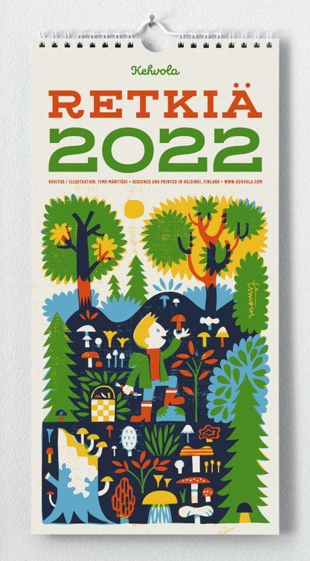 Retkiä-kalenteri 2022, Kehvola