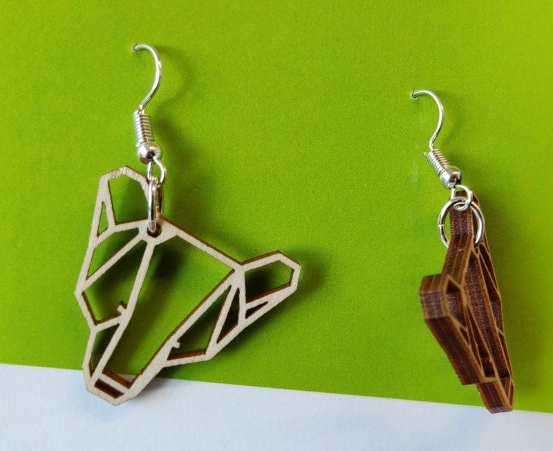 Halla-bear -earrings