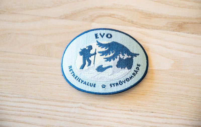 Kansallispuistomerkki - Evo