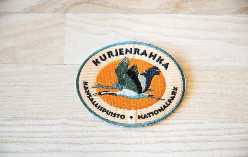 Kansallispuistomerkki - Kurjenrahka