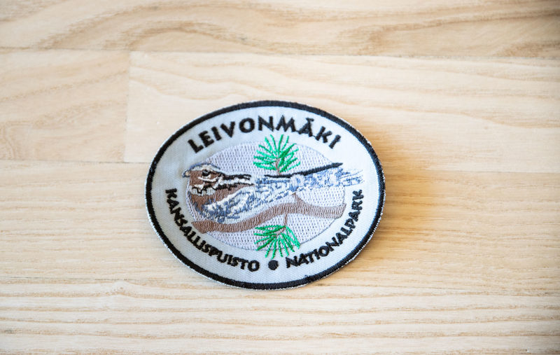 Kansallispuistomerkki - Leivonmäki