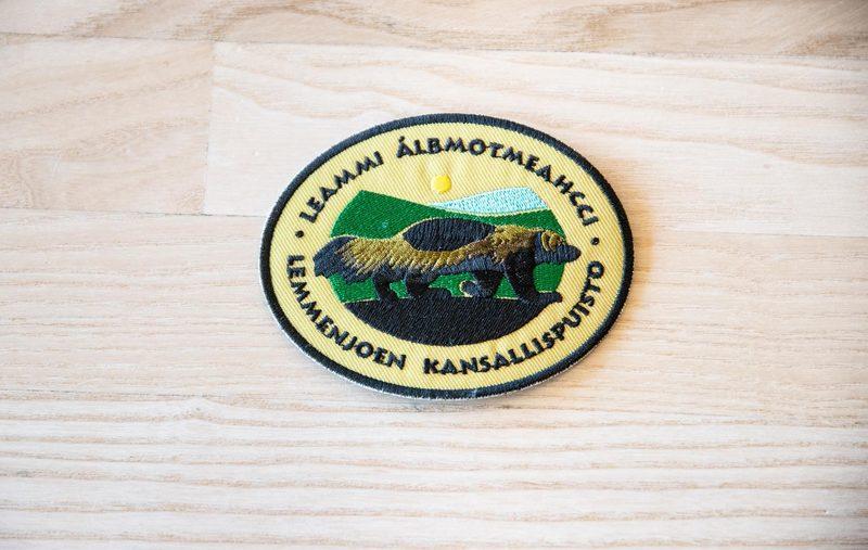 Kansallispuistomerkki - Lemmenjoen kansallispuisto